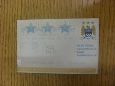 27/11/1999 Ticket: Manchester City v Huddersfield Town (Faded, Folded). Any faul