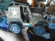 VINTAGE 1980s BUDDY L ARMY T-5278 Jeep