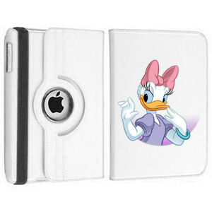 Daisy Duck Rotating Case White Cover for iPad 5th Generation 2017 model