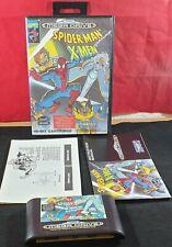 Spider-Man X-Men Arcade's Revenge Sega Mega Drive RARE