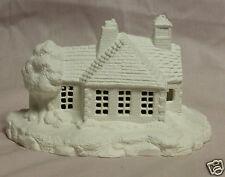 Ceramic Bisque Village School House Duncan 763A U-Paint Ready To Paint