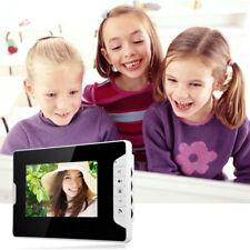 2-Familienhaus Video Türsprechanlage Kit Klingel Sprechanlage mit 2 Monitor