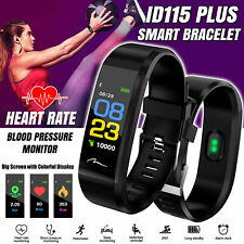 Smart Bracelet Fitbit Fitness Activity Tracker Heart Rate Monitor Android iOS
