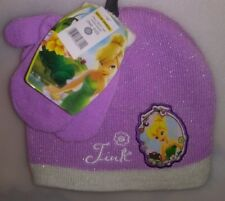 TODDLERS 2 PC SET 1 HAT 1 PR MITTENS 1 SIZE FITS MOST DISNEY PRINCESS TINK A-20