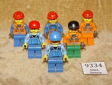 LEGO Minifigs: cty009, cty031, cty011, cty134a, rac038 & cty046 CONSTRUCTION etc