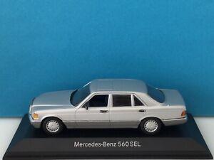 Minichamps 1:43 Mercedes-Benz 560 SEL 1998 Silver Modell Nr: B6 604 0244