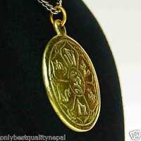 Amulett Talisman Medallion Tibet Schmuck  Anhänger Chenresing a86