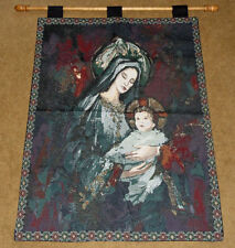 Madonna & Child Tapestry Wall Hanging