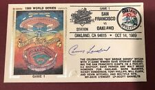 CARNEY LANSFORD 1989 WORLD SERIES SIGNED OAKLAND FDC AUTHENTIC Gateway