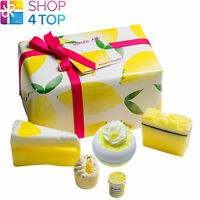 LEMON AID GIFT PACK BOMB COSMETICS LEMON MERINGUE LIME HANDMADE NATURAL NEW