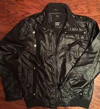 Premium Lounge Black Men Jacket Size XXL