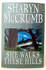 SHE WALKS THES HILLS Sharyn McCrumb AUTHOR-SIGNED Dust Jacket Very Good Cond