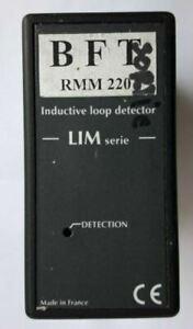 BFT RMM 220 ref LIM-D-300 : Détecteur de boucle magnétique,230V AC