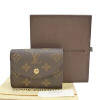 Authentic LOUIS VUITTON Portefeuille Helene Mini Wallet Monogram M60253 #S201002