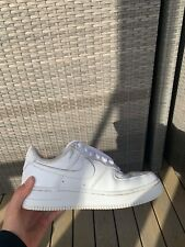 girls nike runners, White, Airforce 1 US size 5