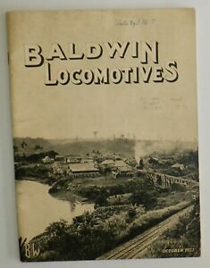 Baldwin Locomotives Magazine -  October 1927