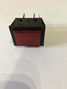 Numatic Henry Hetty Nrv James Hoover Vacuum Red Neon Power supply Light 208885