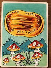 MTG ARTIST PROOF MTG Foreign Warp Artifact AP Sketch Art Amy WEBER