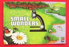 """BROOKE BOND...UNUSED EMPTY ALBUM..."""" SMALL WONDERS """"...1981..."""