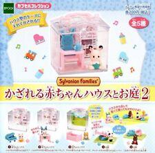 Sylvanian Families 5pc Set Baby House Garden #2 Toy Figure Figurine Collectible