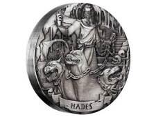 2 $ Dollar Norse Gods Hades High Relief Cook Islands 2 oz Silber 2017