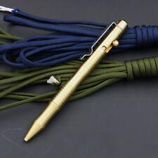 EDCgear Self Defense Pull Bolt Brass Tactical Pen EDC Survival Tool CNC ZSB-01B