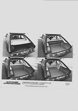 """AUSTIN AMBASSADOR bagagli area di stampa foto """"SALES BROCHURE"""" per MARZO 1982"""