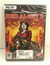 New Sealed - Command & Conquer Red Alert 3 - PC DVD Version