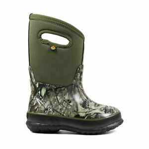 71650 BOGS Kids Classic Mossy Oak Insulated Boot NEW