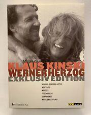 DVD BOX EXCLUSIV EDITION: 6 x Klaus Kinski und  Werner Herzog - neuwertig