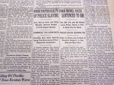 1935 MARCH 27 NEW YORK TIMES - MEMEL CASE ENRAGES REICH - NT 4854