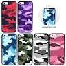 Camouflage Pare Chocs Coque pour Apple iPhone 5 5s SE 5se 6 6s 7 8 PLUS 10 X XS