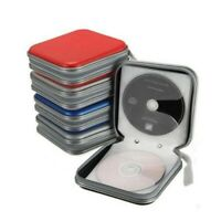 CD/DVD 40 Disc Storage Case Cover Car Home Album Zipper Organizer Disc Holder US