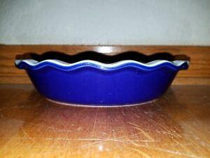 """Emile Henry Blue Pie Baking Dish 9"""""""