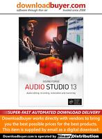 MAGIX Sound Forge Audio Studio 13 - [Download]