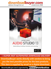 MAGIX Sound Forge Audio Studio 13 - [Download]