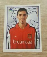 Merlin Premier League 2001 10 Robert Pires Arsenal Topps Panini PL 01