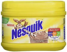 NESTLE NESQUIK CHOCLATE FLAVOUR MILKSHAKE POWDER MIX DRINK 300G.CHOCOLATE  DRINK