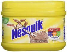 Nestle Nesquik Choclate bebida sabor batido en polvo mezcla de bebida chocolate 300G.