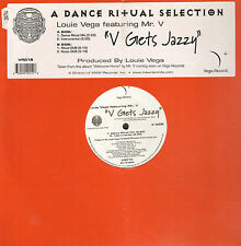 LOUIE VEGA - V Gets Jazzy - Feat Mr. V - Vega