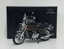 MINICHAMPS 1/12 MODELLINO MOTO HONDA GOLDWING GL 1000 K3 1978 MARRONE DIE CAST