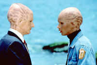 Alien Nation 11x17 Mini Poster Two Aliens Discussing Matters