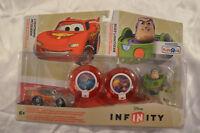 Disney Infinity 3.0 Cars Play Set New Sealed LIghtning McQueen Buzz Lightyear