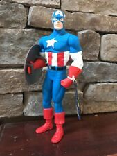 CAPTAIN AMERICA WITH SHIELD MARVEL BY APPLAUSE 1997 Vinyl Doll