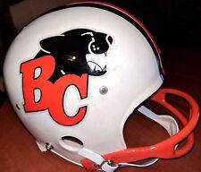 British Columbia Lions Cfl Football Vintage 1980's Wilson Football Helmet(7)