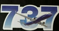 Boeing 737  Sticker Tool Box Decal Sticker A&P Pilot Aircraft Airplane Jet