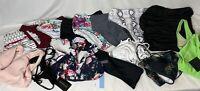 Lot Of Swimwear Size SMALL Mixed Tops Bottoms Colors 16 Pieces Swimsuit Bikini