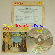 CD BIZET Carmen 2 BALDWIN BOKY HORNE MALIPONTE McCRACKEN grandi opera lp mc dvd