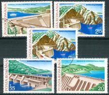 ROMANIA - 1978 - Le centrali idroelettriche - serie non completa