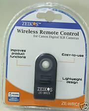 Wireless Remote Control F Canon T5I T4I T6I T7I 70D 7D 60D 50D T6S  80D G16 77D